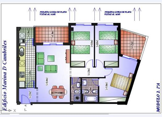 Apartment for rent in Costa Granadina