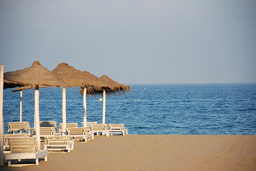 Blue Flag Beaches of Fuengirola in Malaga